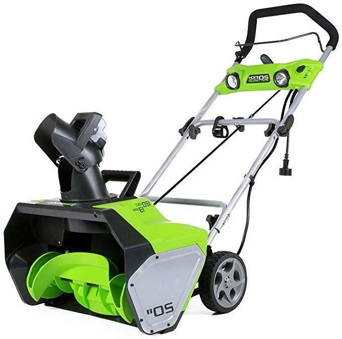 Snow Thrower Blower Electric Inch 13 New
