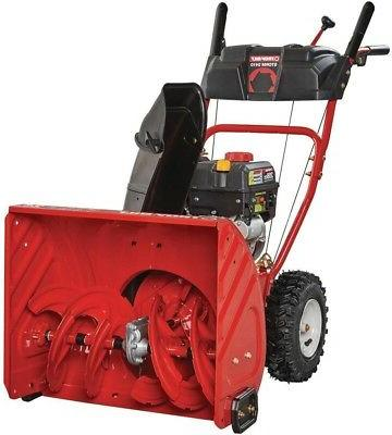 TWO 4.10-6 Snow Blower thrower / Tiller TIREs RIMs WHEEL ASS