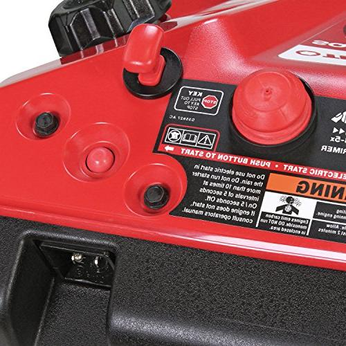 Troy-Bilt Squall Electric Start 21-Inch Gas Thrower