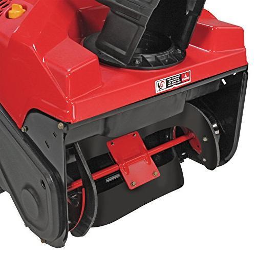Troy-Bilt Squall 208cc Electric Start 21-Inch Single Gas Snow