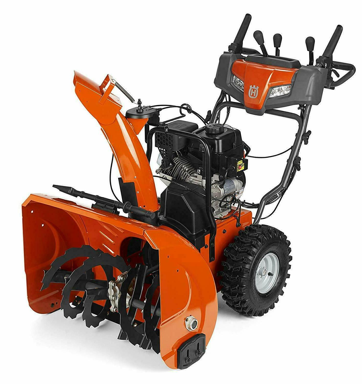 st224p snow thrower electric start w power