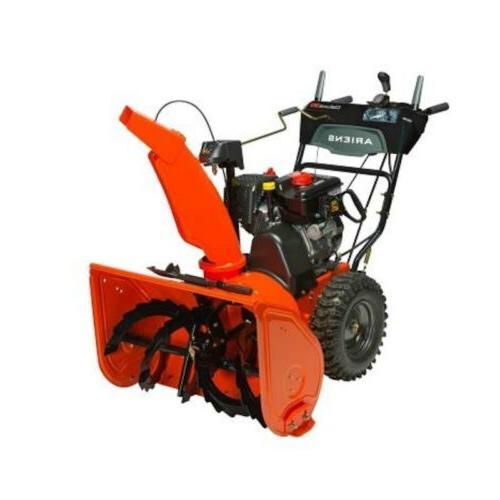 Ariens 2 Stage DLX Plow, Orange