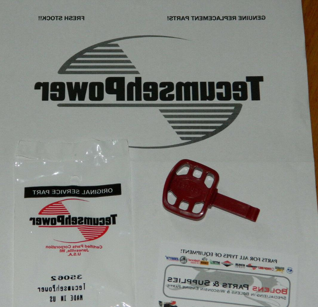 tecumseh snowblower key 35062 craftsman troy bilt