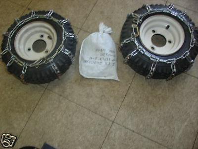Tire Chains FITS Ariens Toro MTD Lawnboy Jacobsen Snowblower
