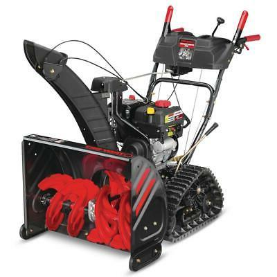 Troy Bilt Two Stage Gas Snow Blower 26 Inch 208 Cc Electric