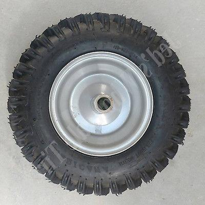 TWO thrower / TIREs RIMs WHEEL 4.10x6