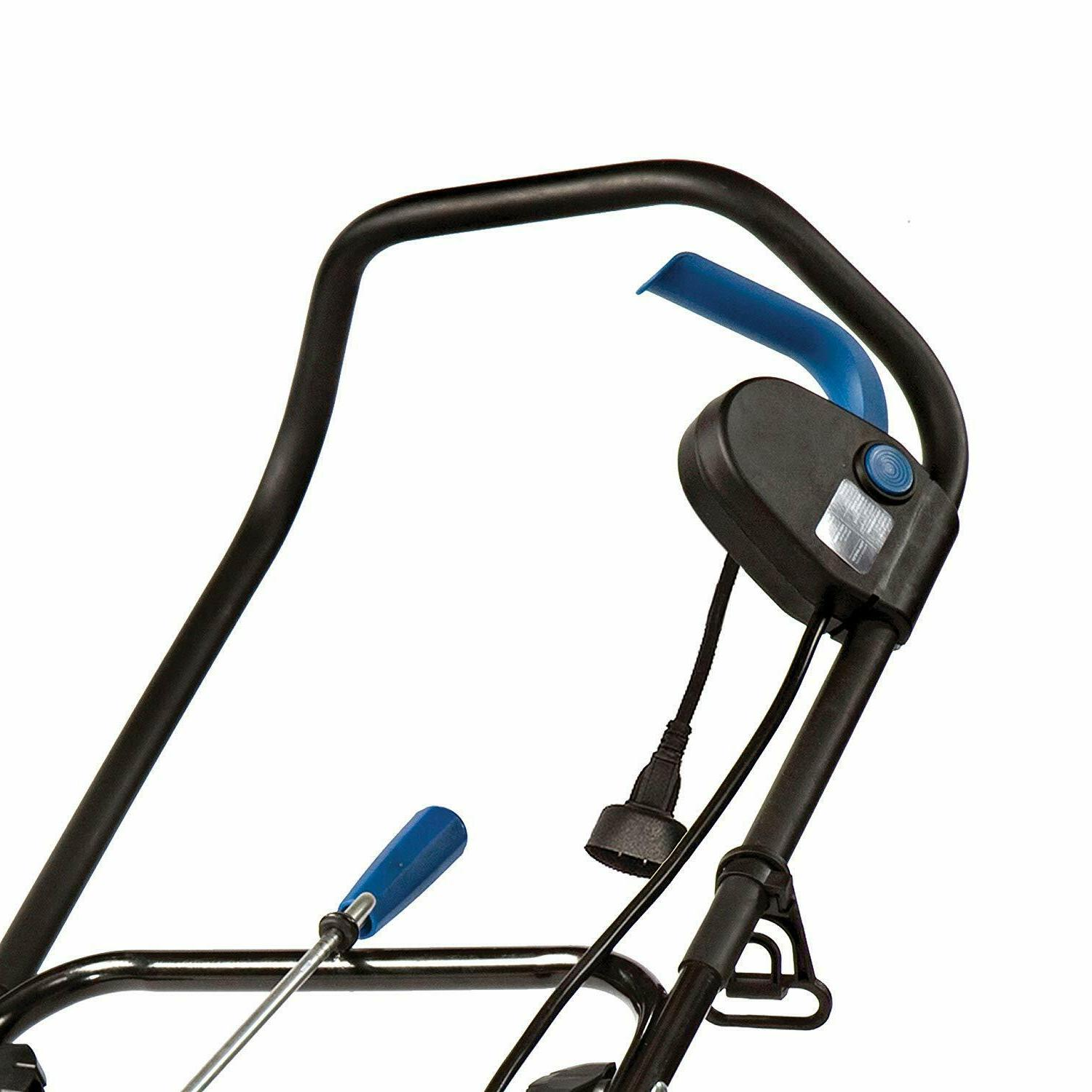 18-Inch Electric Snow Thrower with Light