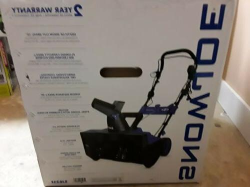 Snow 21-inch 15-amp Electric Thrower