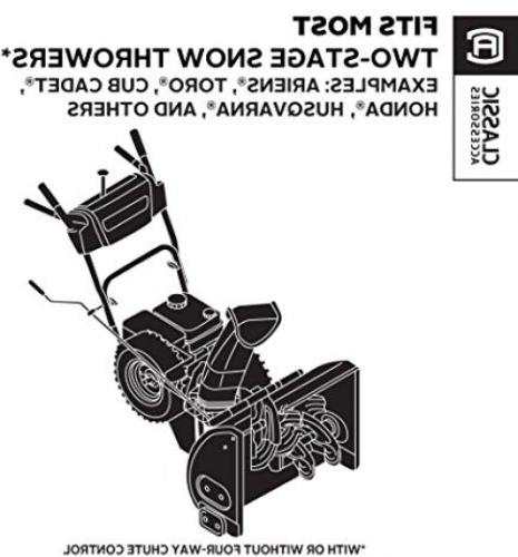 Classic Accessories 2-Stage Snow Cab, Most