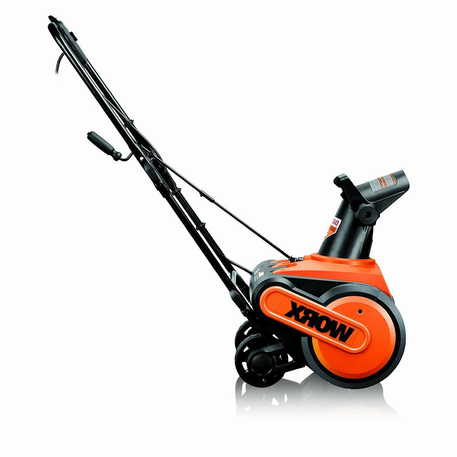 Amp Tool-Less Snow Thrower Move Snow
