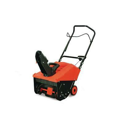 yardmax snow blower thrower 18 in clearing