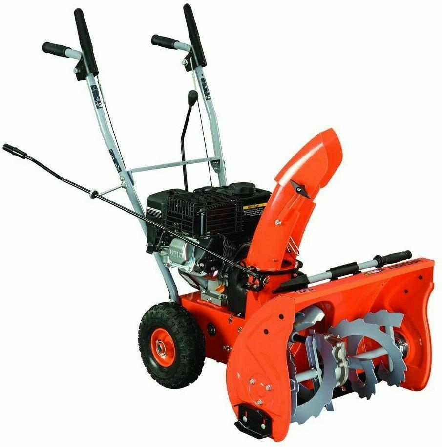 yb5765 two stage snow blower