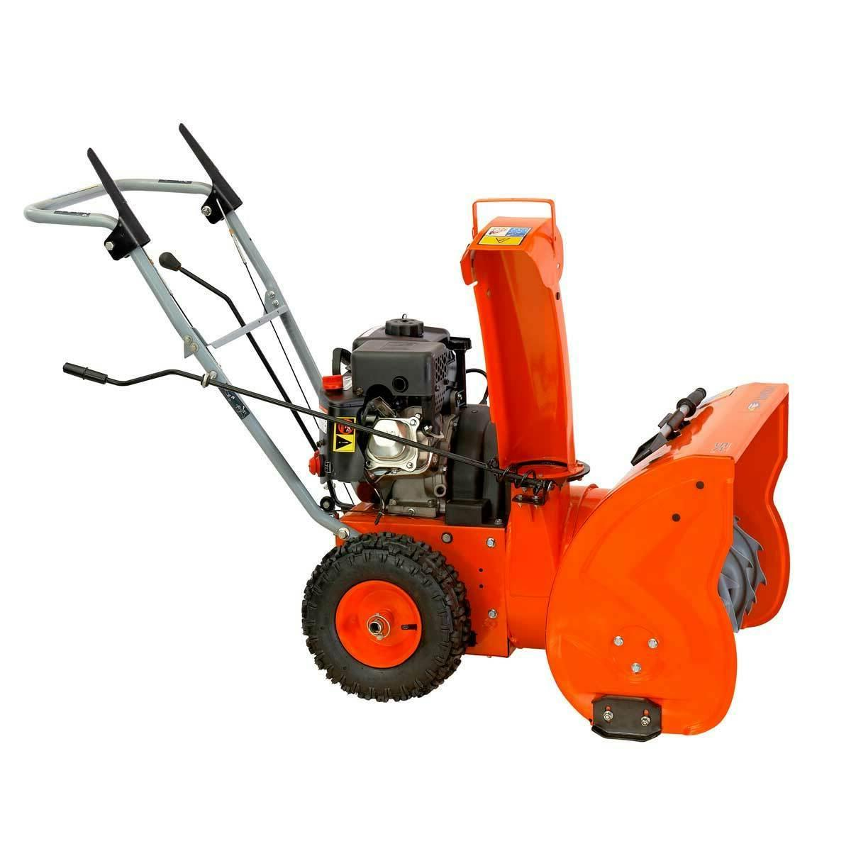 yb6270 two stage snow blower