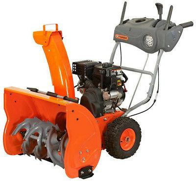 yb6770 two stage snow blower