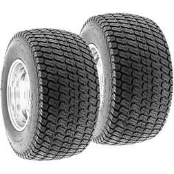 Set of 2 SunF Lawn Mower & Garden Tractor Turf Tires 24x12-1