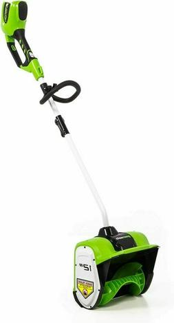 Greenworks 12-Inch 40V Cordless Snow Shovel, Battery Not Inc