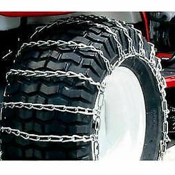 Maxtrac Snow Blower/Garden Tractor Tire Chains, 2 Link Spaci
