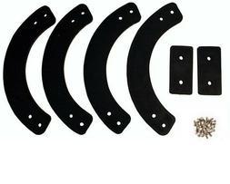 MTD or Troy-Bilt snow blower auger rubber parts 735-04032 75
