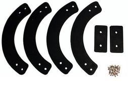 MTD or Troy-Bilt snow blower auger rubber parts 735-04032 73