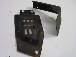MTD Snow blower 483-SU Engine  Muffler baffle w/ Carb shield