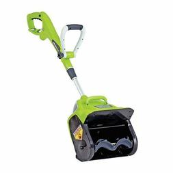 """NEW!! GreenWorks 26012 8 Amp 12"""" Corded Snow Thrower Blower"""