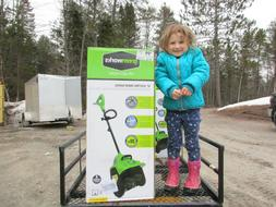 New, Greenworks 8-Amp 12-in Single-stage Corded Electric Sno