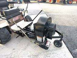 NEW GRASSHOPPER LEAF BLOWER RAD RA8001 WITH RA8002 HITCH FRO