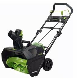 New GreenWorks PRO 20 inch 80V Cordless Snow Thrower, Tool O