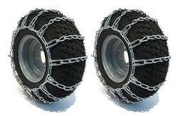 New TIRE CHAINS for Tractor Mower Snow Blower Thrower Mud 2-