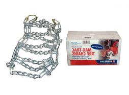 pair 2 link tire chains 20x8 00x8