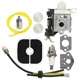 Mckin PB-251 Carburetor RB-K85 Fuel Line kit with Spark Plug