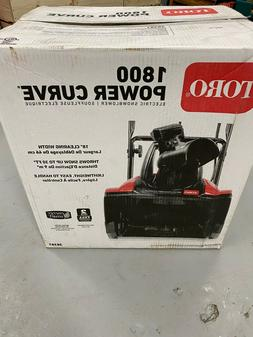 Toro Power curve 1800 Snow blower 38381 18-Inch 15 Amp NEW i