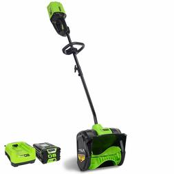 Greenworks PRO 12-Inch 80V Cordless Snow Shovel 2.0 AH Batte