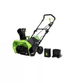 Greenworks Pro 60-Volt 20-in Single-Stage Push Cordless Elec