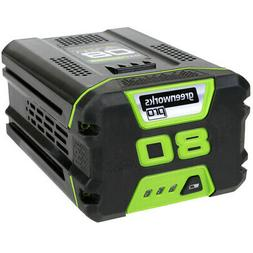 Greenworks PRO 80 V 2.0 AH Lithium Ion Battery New
