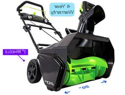 Greenworks Pro 80V Li-Ion 20 in. Snow tool only
