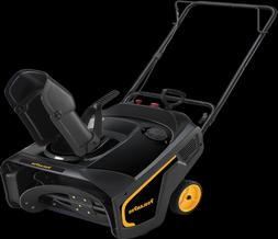 electric start 21 single stage 136cc snowthrower