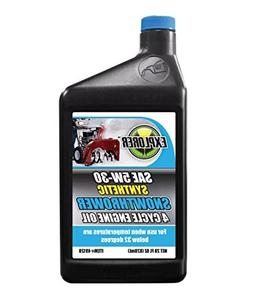 EXPLORER SAE 5W30 Synthetic Snow Thrower 4 Cycle Engine Oil