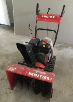 CRAFTSMAN SB410 24-in 208-cc Two-Stage Self-Propelled Gas Sn