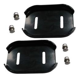 Set Of Two Skid Shoes For Snow Blower Beast Stanley Snowblow
