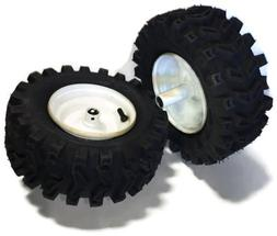 "fastoworld Set 2 7/8"" Wheels 13X500X6 Tires Rims Snowblower"