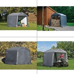 ShelterLogic 8' x 8' Shed-in-a-Box All Season Steel Metal Pe