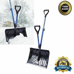 Snow Joe SHOVELUTION SJ-SHLV01 18-IN Strain-Reducing Snow Sh