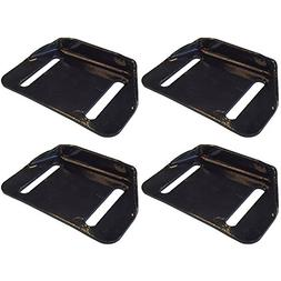 784-5580 Set of 4 Skid Shoe Replacements for MTD Snow Blower