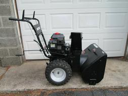 """Craftsman snow blower 6.0 hp 24 """" 6x6.50 Wide Tires Electric"""