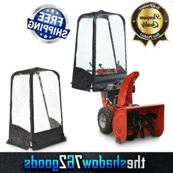 Snow Blower Cab Thrower Steel Frame Enclosure Fabric Shell E