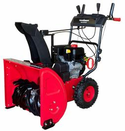 Snow Blower PowerSmart DB7624E 24 in. 212cc 2-Stage Electric