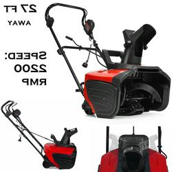 Snow Blower Electric Snow Thrower Push Cleaning Machine 18 I