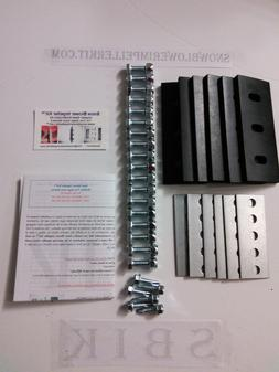 "SNOW BLOWER IMPELLER KIT™ Modifies 2-Stage Machine 3//8/"" HD 4-Blade Universal"