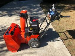 snow blower model 920014 sno thro mint